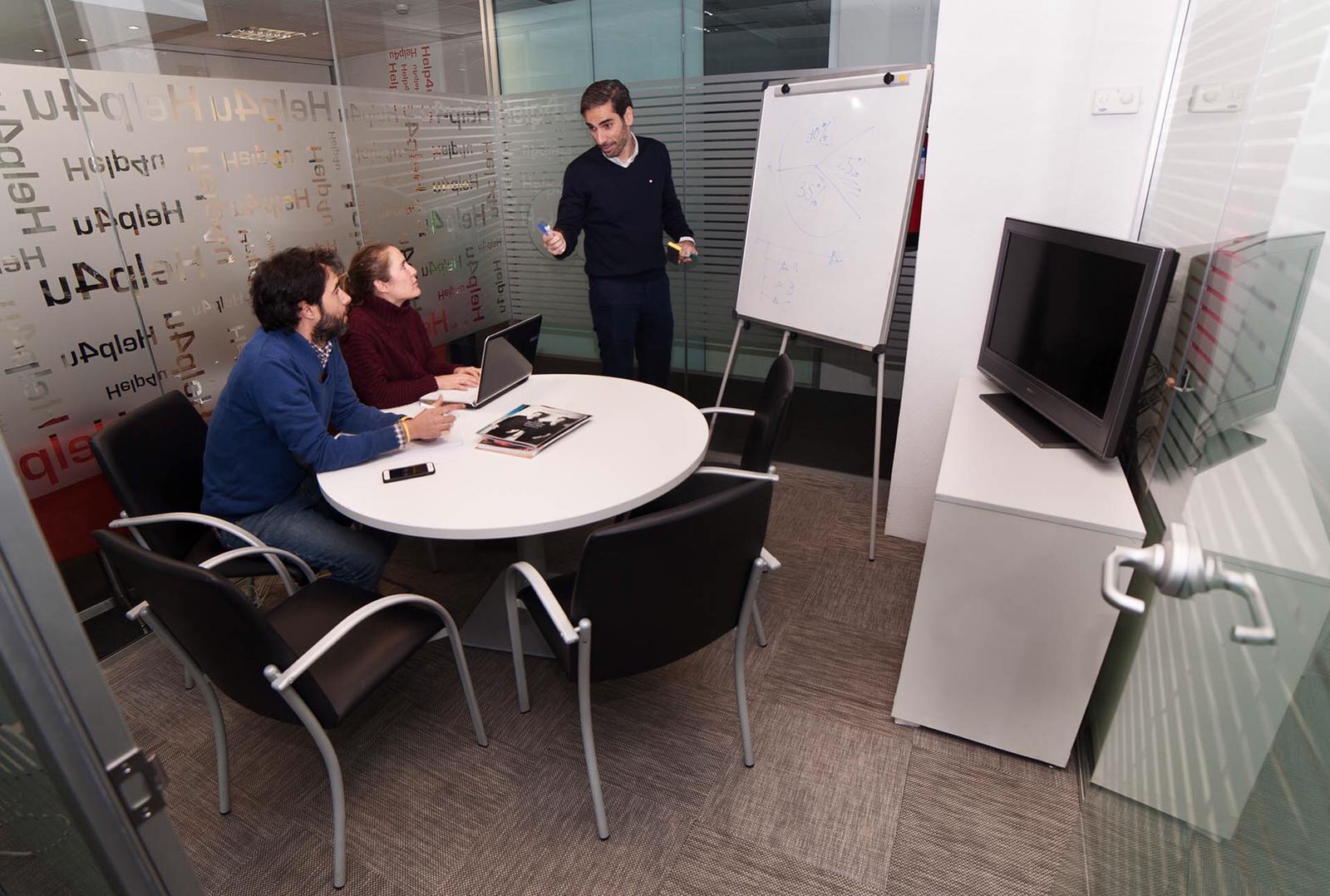 Sala Grecia - Salas de reunión en centro de negocios